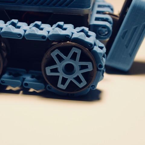 Descargar STL Kit de ruedas V4 para SMARS V1 y Mk2, Tuitxy