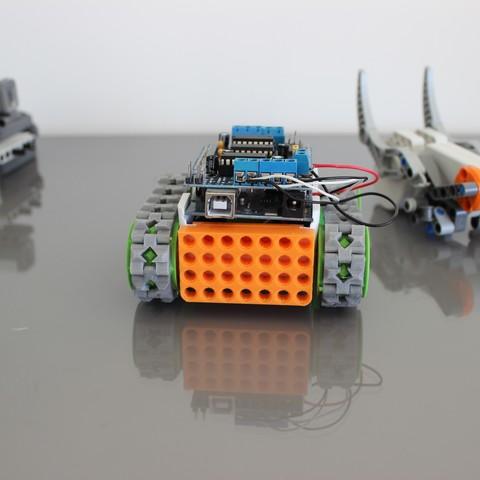Fichier imprimante 3d gratuit module lego pour smars cults - Modele lego gratuit ...