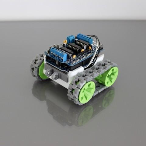 modelos 3d gratis Robot modular SMARS, Tuitxy