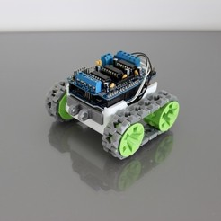 Free 3D model SMARS modular Robot, Tuitxy