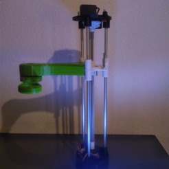 Free 3D printer model 40$ SCARA Arm, Tuitxy