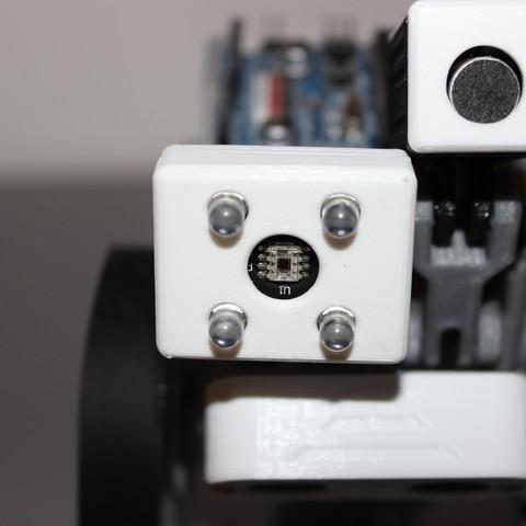 Descargar Modelos 3D para imprimir gratis Sensor de color para SMARS, Tuitxy