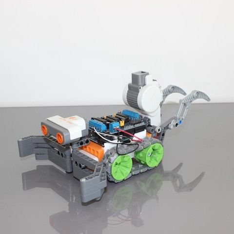 Download free 3D printer model Lego module for SMARS, Tuitxy