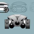 diseños 3d gratis SMARS cero, Tuitxy