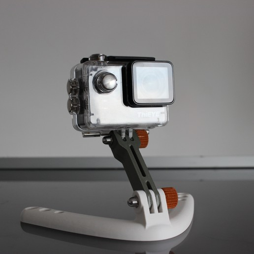 Download STL file GoPro tutorials stand • 3D printable design, Tuitxy