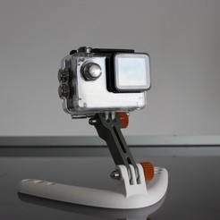 Download 3D printer model GoPro tutorials stand, Tuitxy
