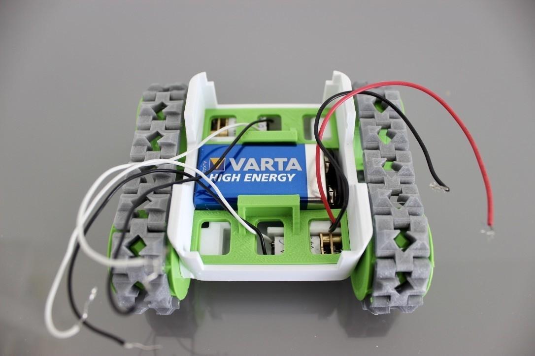 QDp86%i5SOGYNoYx6vtWGg_thumb_491.jpg Download free STL file SMARS modular Robot • 3D printable design, Tuitxy