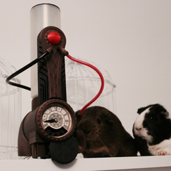 Free 3D printing designs Amnesia a machine for guinea pigs, Tuitxy