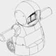 Download free 3D printing designs Joy Robot (Robô da Alegria), IgorF2