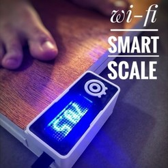 Free stl DIY Wi-Fi Smart Scale, IgorF2