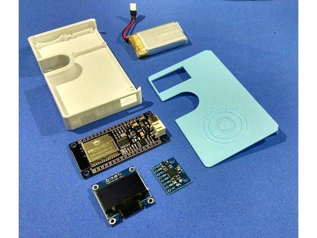 128b312cfde3b747f285613dbdd68d22_preview_featured.jpg Download free STL file IoT Wallet • 3D printing object, IgorF2