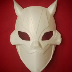 Télécharger fichier impression 3D Masque Cheshire, VillainousPropShop