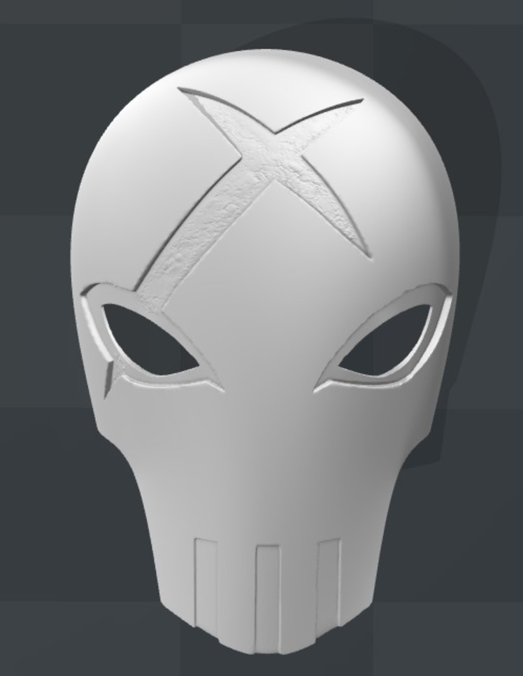 Capture d'écran 2017-09-15 à 21.04.55.png Download free STL file Red X Mask Teen Titans • 3D printable object, VillainousPropShop