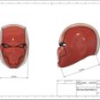 modèle 3d Red Rene, VillainousPropShop