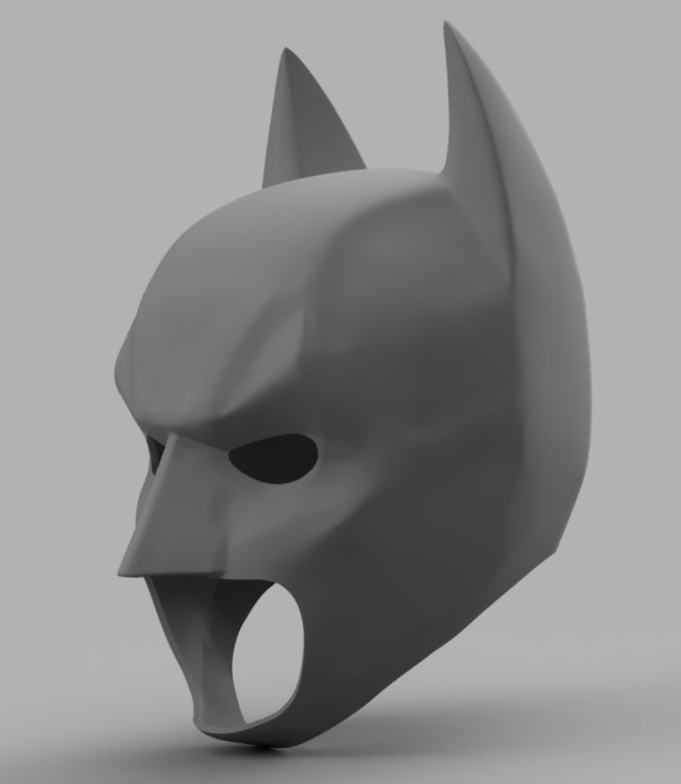 Capture d'écran 2017-09-15 à 19.19.48.png Télécharger fichier STL gratuit The Dark Knight Rising Batman Cowl • Objet pour impression 3D, VillainousPropShop