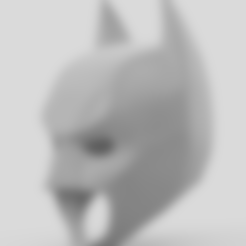 Free 3d print files The Dark Knight Rises Batman Cowl, VillainousPropShop