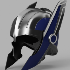 Capture d'écran 2017-09-15 à 11.01.46.png Download free STL file Thor Ragnarok Helmet (Wing Rotator) • 3D printing model, VillainousPropShop