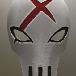 Download free 3D model Red X Mask Teen Titans, VillainousPropShop