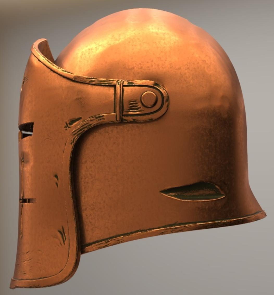 Capture d'écran 2017-09-14 à 15.55.11.png Download free STL file For Honor Warden Helm - Knight • 3D print template, VillainousPropShop