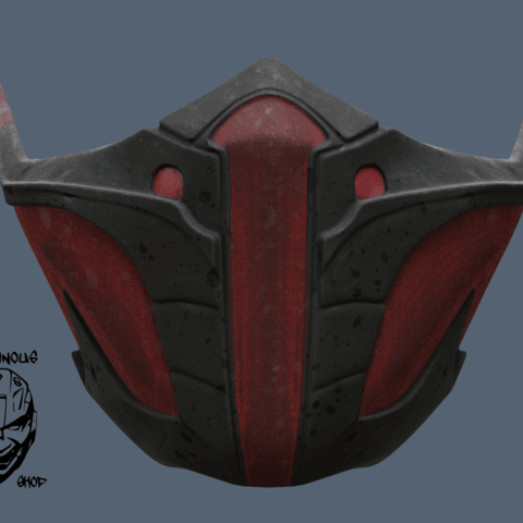 Download 3d Printer Files Mortal Kombat 11 Jade Or Skarlet Mask