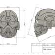 d1.png Download STL file Darth Nox Kallig Helmet Star Wars • Template to 3D print, VillainousPropShop