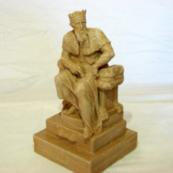 Free 3d print files Thuner or Thunor, Saxon God, VillainousPropShop