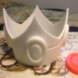 Free 3D printer model Princess Peach Crown Mario Brothers, VillainousPropShop
