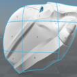 split.png Download STL file Red Hood Helmet Injustice 2 • Model to 3D print, VillainousPropShop