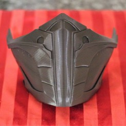 3D print files Mortal Kombat 11 Jade or Skarlet Mask, VillainousPropShop