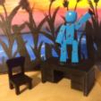 Capture d'écran 2017-09-14 à 13.54.10.png Download free STL file Toy Desk and Chair • 3D printing object, VillainousPropShop