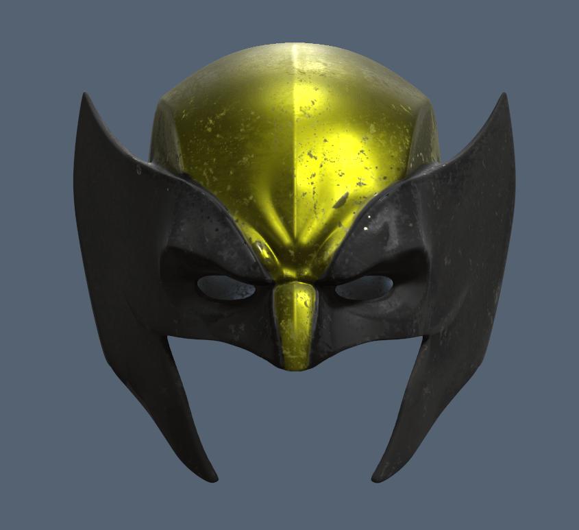 Wolverine Masks Short.png Download STL file Wolverine Mask • 3D printable model, VillainousPropShop