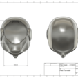 3D print model Red Hood New 52 Helmet , VillainousPropShop