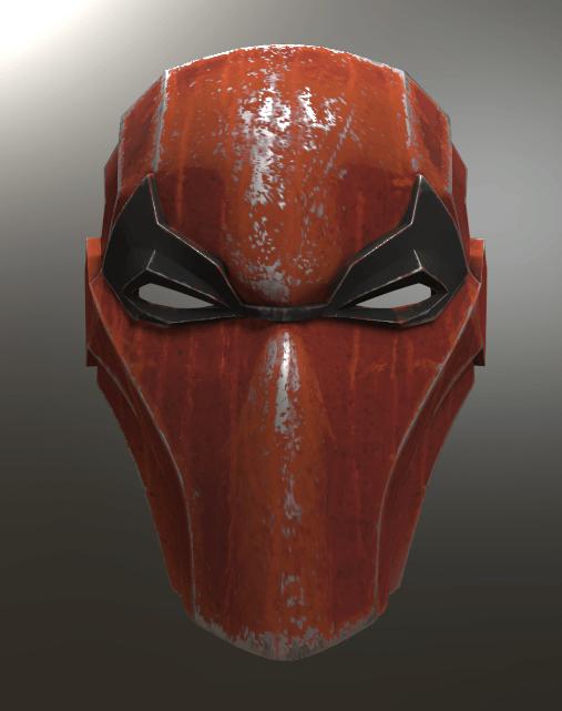 Red Hood.png Download STL file Deathstroke Injustice Helmet • 3D printable model, VillainousPropShop