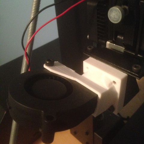 Free 3d print files Wanhao Duplicator i3 Fan Duct, killonious