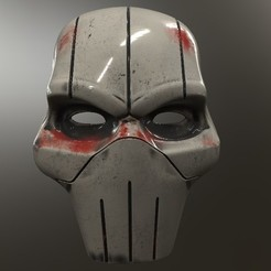 Download free STL files Taskmaster Udon Mask, VillainousPropShop