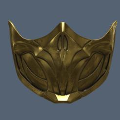Modelos 3D para imprimir MK 11 Máscara Escorpión, VillainousPropShop
