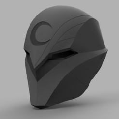 3D print model Moon Knight Helmet, VillainousPropShop