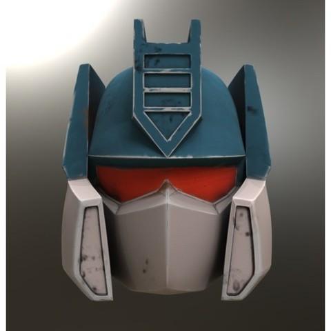 Free 3D model Soundwave Helmet Generation 1, VillainousPropShop