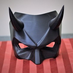 3D printer files Daredevil Mask, VillainousPropShop