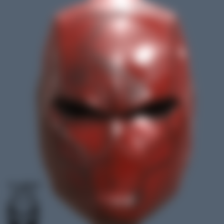 Download 3D model Red Hood Helmet Rebirth, VillainousPropShop