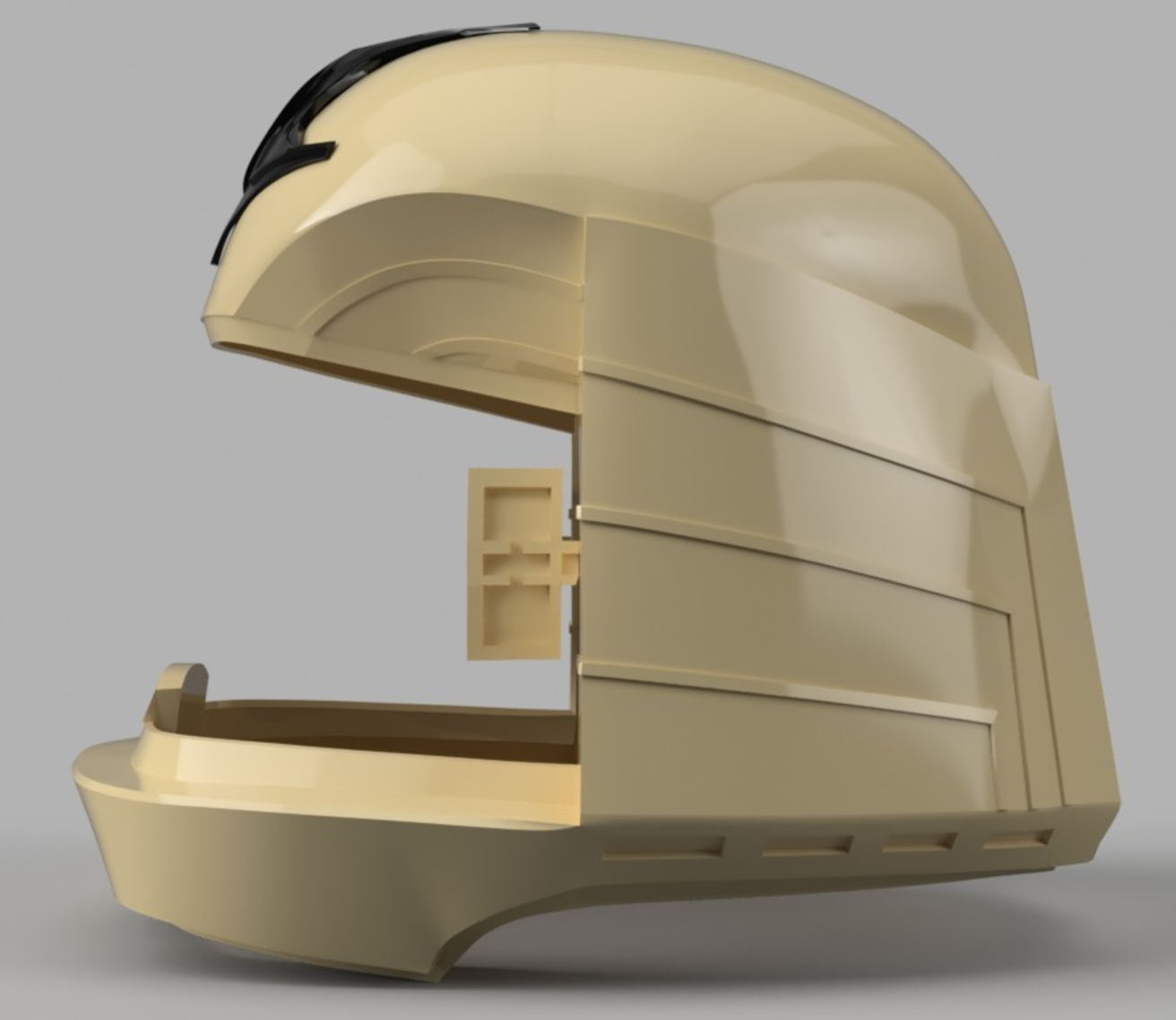 Capture d'écran 2017-09-15 à 16.16.22.png Download free STL file Battlestar Galactica Colonial Viper Pilot Helmet • 3D printing object, VillainousPropShop