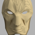 Free 3D model Jhin Mask (League of Legends), VillainousPropShop