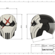 d1.png Download STL file Deathstroke Injustice Helmet • 3D printable model, VillainousPropShop