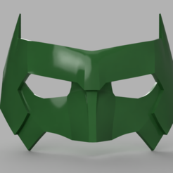 Descargar archivos STL Kyle Rayner Máscara Linterna Verde, VillainousPropShop