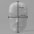 Impresiones 3D Dr. Doom Mask / Casco, VillainousPropShop