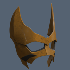 Download STL files Tigress Mask, VillainousPropShop