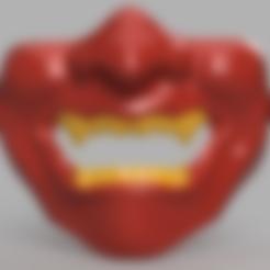 Descargar archivos STL gratis Samurai Half Mask (Mempo), VillainousPropShop
