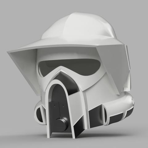 ARF_Helmet_reduced_2018-Jan-15_07-04-37PM-000_CustomizedView1214601177.png Download STL file ARF Trooper Helmet • 3D print object, VillainousPropShop
