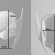 d1.png Download STL file Wolverine Mask • 3D printable model, VillainousPropShop