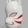 Free 3D printer designs Kakashi Anbu Mask Naruto, VillainousPropShop